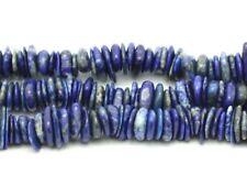 Perles de Pierre Lapis Lazuli Mat Givré Rondelles 8x5mm 10pc 8741140007840