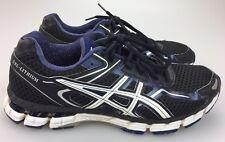 Asics Gel Lithium Shoes Men's 10 44 Running Blue Black