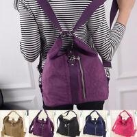 Multipurpose Backbag Handbag Shoulder Tote Bag Hobo Bag Zipper Strap Waterproof