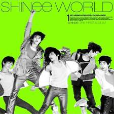 SHINEE [THE SHINEE WORLD] 1st First Album A Ver CD+Booklet K-POP SEALED