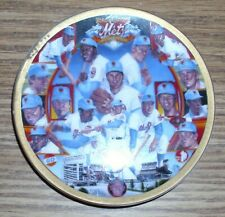 1969 Miracle Mets 25th Anniversary 1994 Sports Impressions Mini Plate New in Box