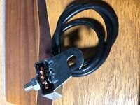 Stewart Warner Bicycle Speedometer drive and cable +housing & Drive wheel
