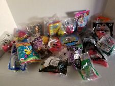 Mixed Lot 21 Fast Food Toys New In Original Wrapper McDonalds Burger King Wendys