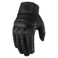 Icon Brigand Moto Motorcycle Motorbike Gloves Black