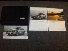 2013 Audi TT & TT RS TTS Owner Owner's Operator Manual Set Quattro Prestige 2.0L