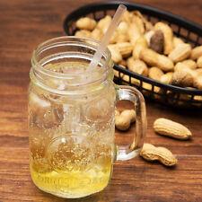 Set of 6 County Fair Drinking Mason Jar 16 oz with Handle Libbey Glass 97085