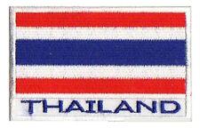 Patch patche thermocollant écusson Thailande 7x4,5cm brodé badge