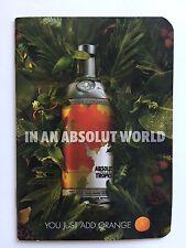 ABSOLUT Vodka - Absolut Tropics - Heft mit Rezepten
