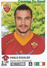 430 PABLO OSVALDO ITALIA AS.ROMA STICKER CALCIATORI 2012 PANINI