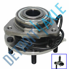 New Front Complete Wheel Hub and Bearing Assembly 4x4 w/ ABS for Chevy Blazer