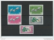 LOT : 102015/520A - AFGHANISTAN 1963 - YT N° 695/699 NEUF SANS CHARNIERE ** (MNH