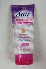 Nair Hair Remover Cream  Nourish  Skin Renewal  For Legs Body 7 9 oz  224 g