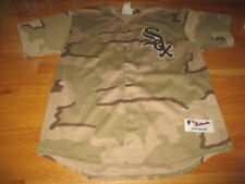 Majestic GORDON BECKHAM No. 15 CHICAGO WHITE SOX (Size 52) Jersey CAMOUFLAGE