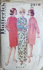 VTG 50s 60s Butterricks Shirt & Jumper Lingerie Sewing Pattern Size 16 Bust 36