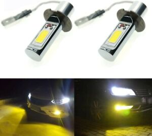 Calais Extremely Bright LED H3 30W Golden Yellow Color LED Fog Light Set of 2