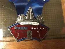 2017 Bristol, RI Independence Rhode Island Race Half Marathon Finisher Medal