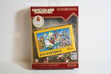 Super Mario Bros 20th Anniversary Famicom Mini GAMEBOY Advance GBA Japan Import