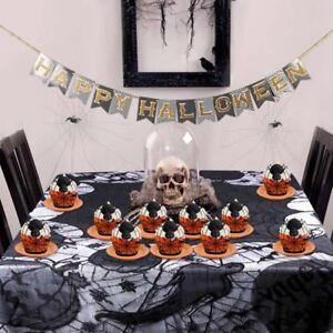 Halloween Decorative Border Cupcake Holder Lace Decoration Trays Cake Wrapper BT