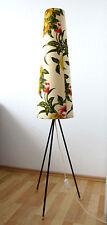 Tripod Dreibein Vintage 50's 60's Floor Lamp Stehlampe Rockabilly Tütenlampe