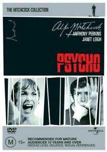 Psycho : The Hitchcock Collection : NEW DVD
