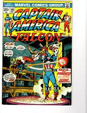 Captain America #168 (12/73) F/VF (7.0) Falcon! 1st Helmut Zemo! Key Bronze Age!