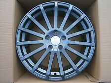 "18"" FORD RS STYLE GREY ALLOY WHEELS ONLY FORD FOCUS MONDEO CONNECT C-MAX 5X108"