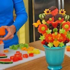 Pop Creative Chef Food Decorator 6 Shapes Cake Fruit Maker Home Kitchen Tool Set