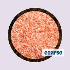 Pure Pink Natural Himalayan Coarse Food Grade Table Rock Salt Healthy Organic 5kg E24