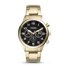 Fossil BQ2121 Flynn Pilot Chronograph Gold-tone Stainless Mens Watch