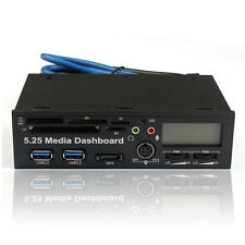 5.25 USB 3.0 High Speed Media Dashboard Front Panel PC Multi Card Reader Tide