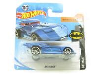 Hotwheels Batmobile Blue 2/5 Short Card 1 64 Scale Sealed