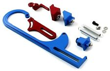 THROTTLE CABLE BRACKET FOR HOLLEY CARBURETOR TWO TONE