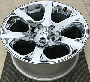 "20"" Dodge Ram 1500 Chrome Clad OEM Wheel Rim 1UB19SZ0AC 2454"