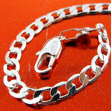 A323 GENUINE REAL 925 STERLING SILVER S/F SOLID LADIES PENDANT NECKLACE CHAIN