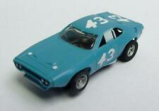 DAVESHOBBY COLLECTION of AURORA AFX - Plymouth Road Runner in Blue #43 - Mint