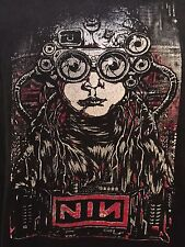 Very Rare Nine Inch Nails NIN Tour Shirt Sz XL Industrial Rock Metal Thrash Goth