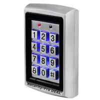 125KHz RFID Card & Password Metal Door Access Control Keypad with Backlight HOT