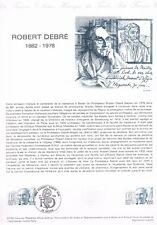 Document Officiel   1982 20   Robert Debre  Yv N° 2228