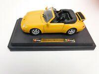 Burago Porsche 911 Carrera in Gelb