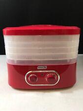 Dash Smart Store Dehydrator Red New Open Box