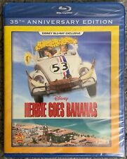 NEW DISNEY HERBIE GOES BANANAS BLU RAY MOVIE CLUB EXCLUSIVE 35TH ANNIVERSARY ED