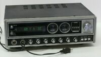 President Dwight D CB Ham Radio Transceivers Base Station Rare Vintage Powers On