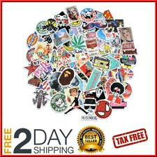 100 Stickers Laptop Car Motorcycle Luggage Dope Supreme Hypebeast Bape Slaps
