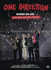 Where We Are: Live From San Siro Stadium [DVD] [2014]  Brand new and sealed