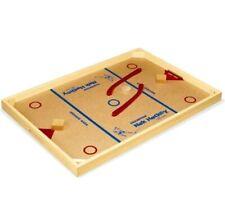 Carrom Champion Nok Hockey Board Game Sport Wood Hardwood Pucks Sticks Toy New