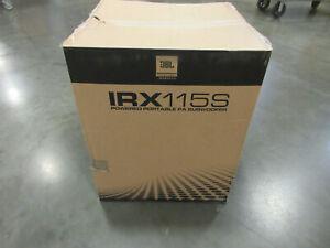 JBL Professional IRX Series Powered Compact Subwoofer, 15-Inch (JBL-IRX115S-NA)