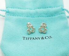 Tiffany & Co. Sterling Silver 925 Paloma Picasso Triple Venezia Goldoni Earrings