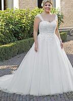 Brautkleid Hochzeitskleid Kleid für mollige Braut Babycat collection 34-56 K03