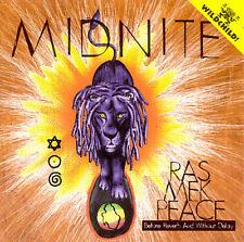 MIDNITE - Ras Mek Peace - CD - Import - **Excellent Condition** - RARE