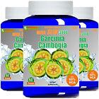 3x Garcinia Cambogia Extract MEGA 1000mg Weight Loss 60 HCA Potassium Calcium